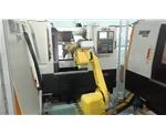 机器人+数控车床工作单元
