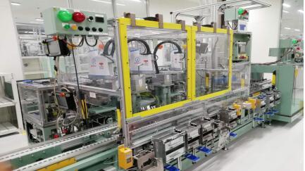 变速箱自动装配生产线